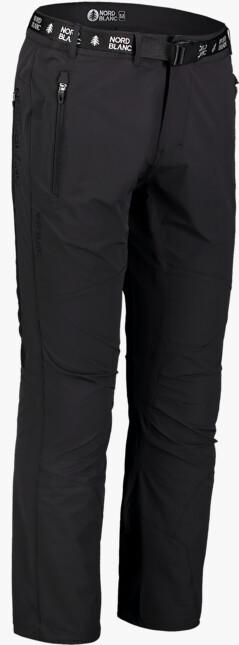 Men's black outdoor pants ADVENTURE