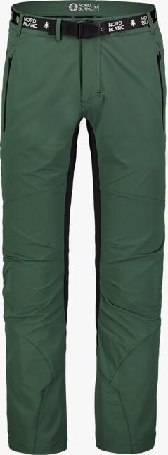 Pantaloni verzi outdoor pentru bărbați ADVENTURE - NBSPM7412