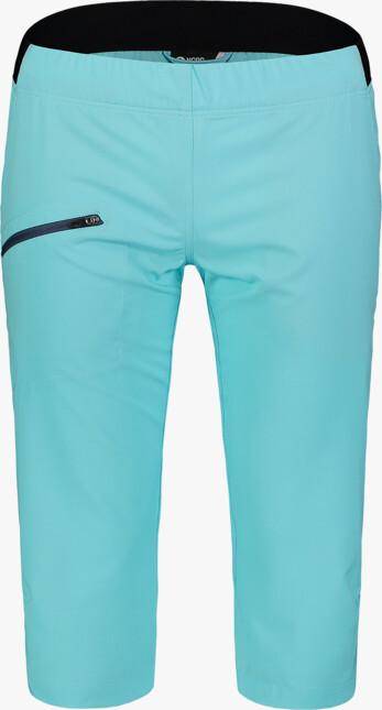 Modré dámske ultraľahké outdoorové kraťasy EASEFUL - NBSPL7417