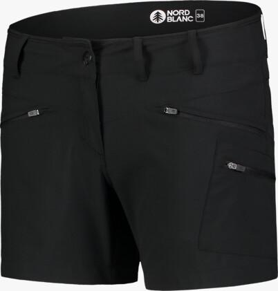 Damen Leichte- Outdoor shorts schwarz SIMPLICITY