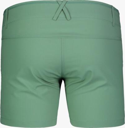 Șorturi ușoare verzi outdoor pentru femei SIMPLICITY