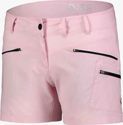 Șorturi ușoare roz outdoor pentru femei SIMPLICITY - NBSPL7418