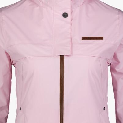 Růžová dámská lehká jarní bunda INLUX
