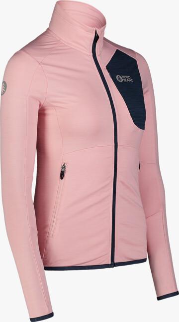 Ružová dámska powerfleecová mikina ACME