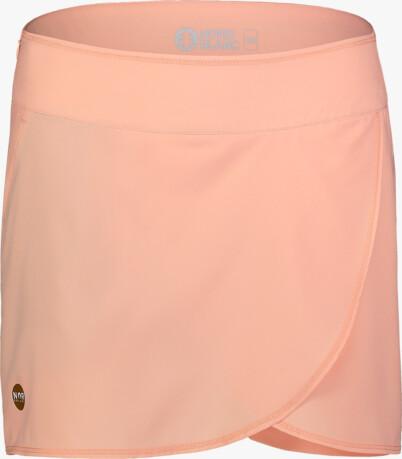 Oranžová dámská sportovní šortko-sukně SOPHISTICATED