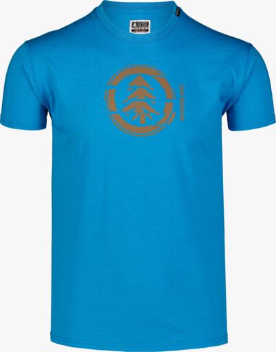Kék férfi pamut póló UNVIS