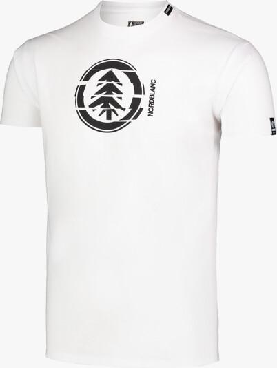 Men's white cotton t-shirt UNVIS
