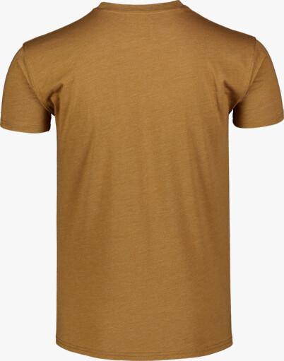Barna férfi pamut póló UNVIS