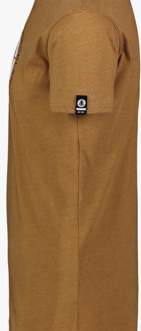 Tricou maro din bumbac pentru bărbați TRICOLOR