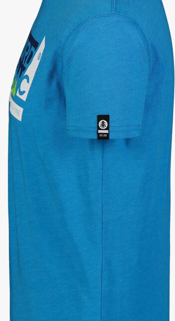 Tricou albastru pentru bărbați WALLON