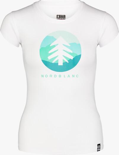 Tricou alb pentru femei SUNTRE