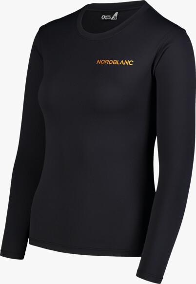 Černé dámské fitness triko CLASH