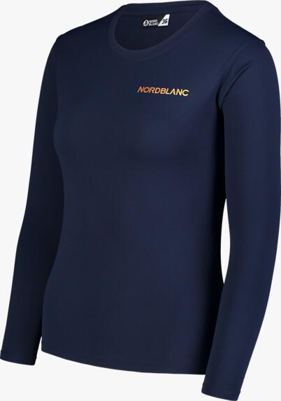 Modré dámské fitness triko CLASH
