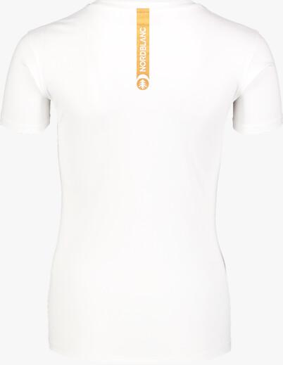 Fehér női funkcionális fitness póló TRAINING