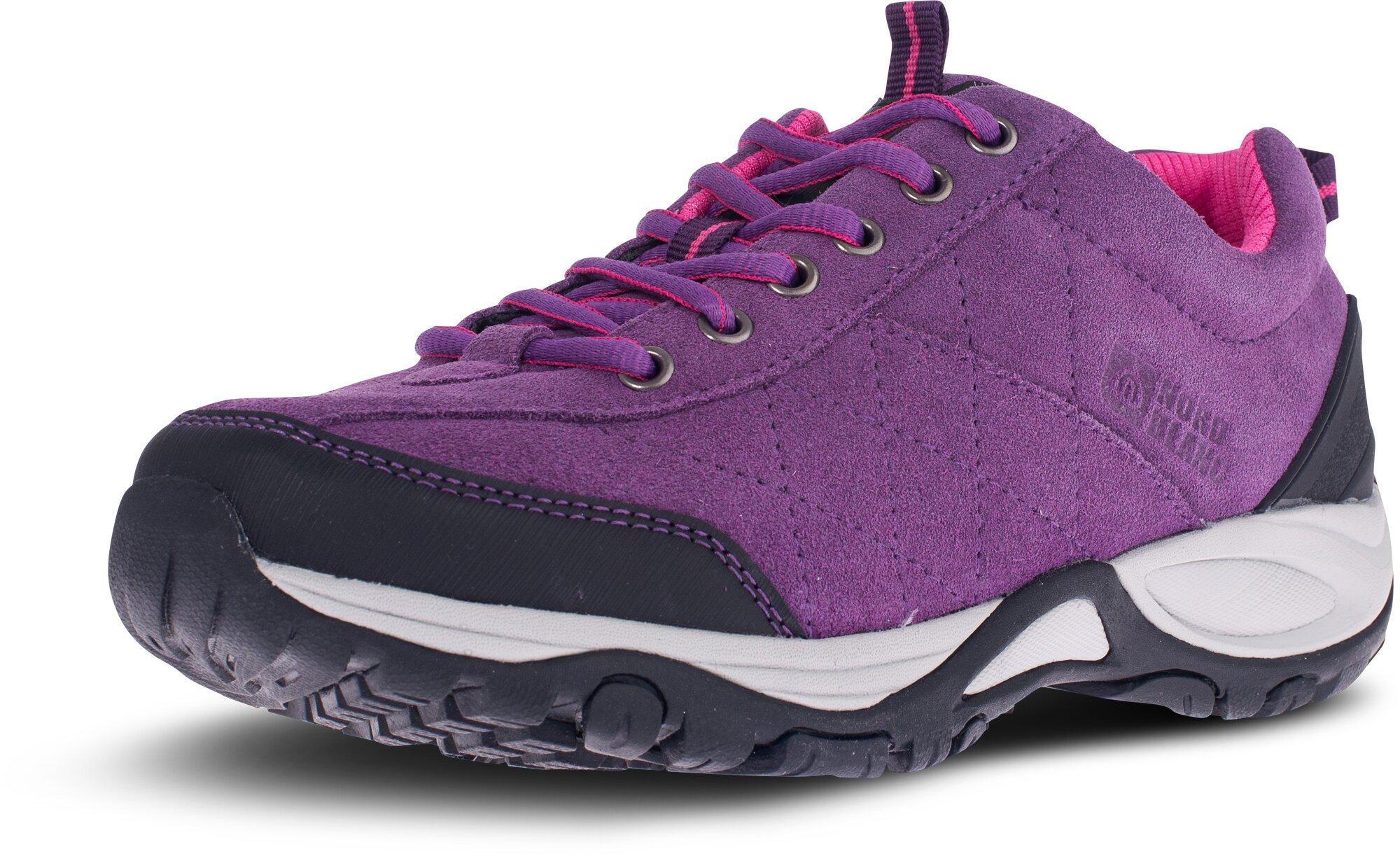 ... Fialové dámské kožené outdoorové boty MAIN LADY - NBLC81 ... 2b20c548f4