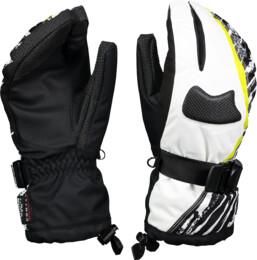 Bílé dámské rukavice GEAR - NBWG3344