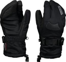 Černé dámské rukavice GEAR - NBWG3344