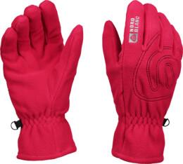 Růžové fleecové rukavice GERRY - NBWG3349