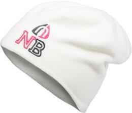 Biela čiapka HERMY - NBWHK3359W