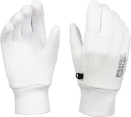 Biele pletené rukavice COMET - NBWG4725