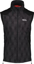 Šedá pánská lehká softshellová vesta VESTR - NBSSM2290B