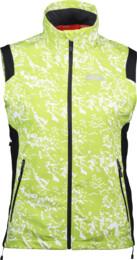 Zelená dámská lehká softshellová vesta BUNDEE - NBSSL2312B