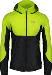 Zelená pánská lehká sportovní bunda 2v1 LIFELONG - NBSJM5001