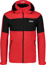 Men's red waterproof outdoor jacket EFFORT - NBSJM5504