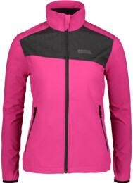 Women's pink light softshell jacket ALTER - NBSSL5517