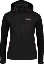 Fekete női könnyű softsheel dzseki/kabát 2az1ben FLUKE