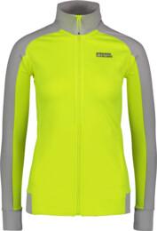 Women's yellow power fleece jacket FRANK - NBSLS5616