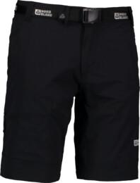 Pantaloni scurți negri outdoor pentru bărbați CROOK - NBSPM5524