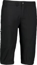 Černé pánské lehké outdoorové kraťasy POINT - NBSPM5526