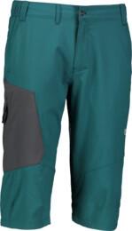 Zelené pánské lehké outdoorové kraťasy POINT - NBSPM5526
