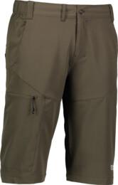 Khaki pánske outdoorové kraťasy HICKS - NBSPM5527