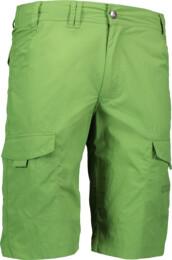 Zelené pánské lehké kraťasy GREAT