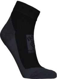 Black compression merino socks REFUGE - NBSX16370