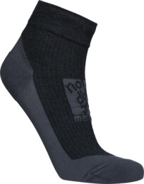 Grey compression merino socks REFUGE - NBSX16370