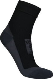 Black compression merino socks BUMP - NBSX16371