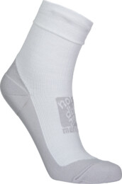 Grey compression merino socks BUMP - NBSX16371
