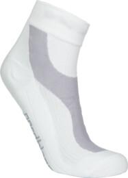 Bílé kompresní sportovní ponožky LUMP - NBSX16373