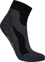 Černé kompresní sportovní ponožky LUMP - NBSX16373