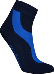 Modré kompresní sportovní ponožky LUMP
