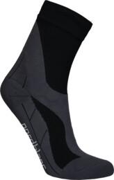 Černé kompresní sportovní ponožky THWACK - NBSX16374