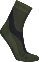 Khaki kompresní sportovní ponožky THWACK - NBSX16374