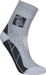 Šedé kompresní sportovní ponožky STARCH