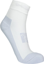 White compression hiking socks CORNER - NBSX16381