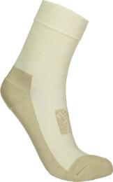 Béžové kompresní turistické ponožky IMPACT