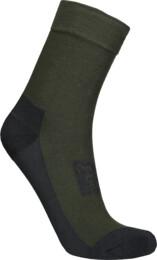 Khaki kompresní turistické ponožky IMPACT - NBSX16382