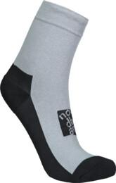 Šedé kompresní turistické ponožky IMPACT